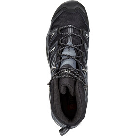 Salomon M's X Ultra 3 Wide Mid GTX Shoes Black/India Ink/Monument